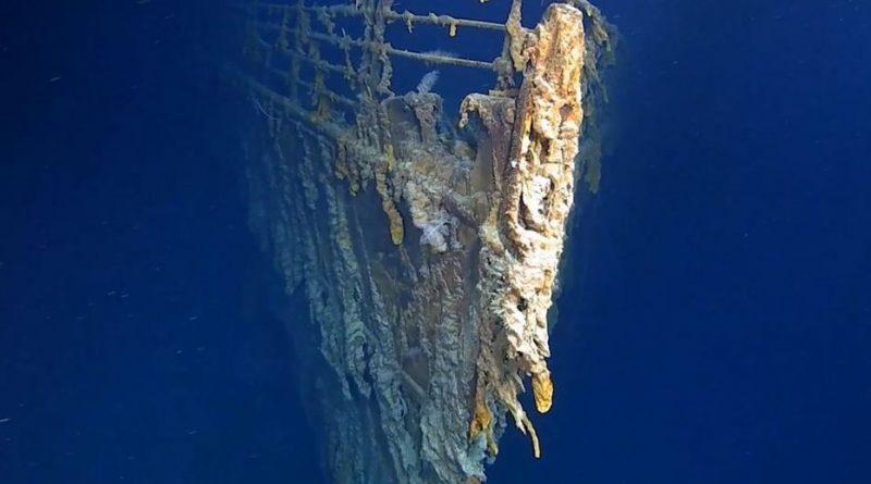 dégradation titanic