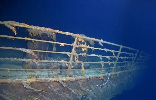 titanic photo réel