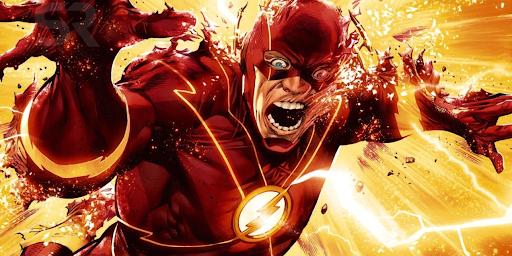 Flash dans un dessin animé