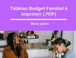 tableau budget familial à imprimer en pdf