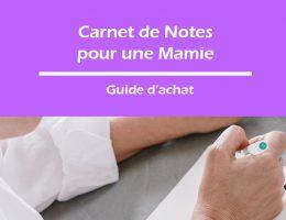 carnet de notes pour une mamie